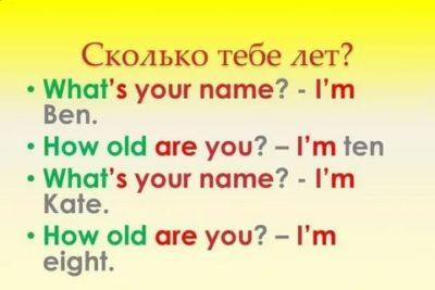 как долго на английском