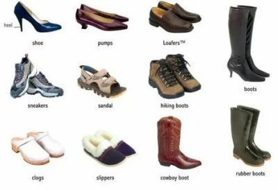 как по английски ботинки