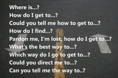 как по английски дорога