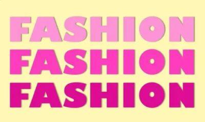 как переводится слово fashion