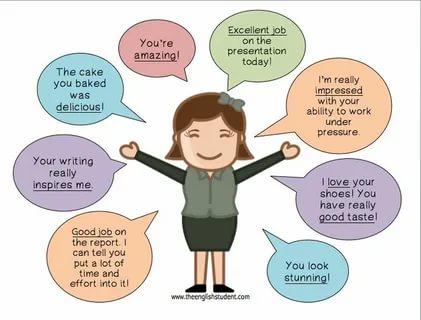 Как похвалить девушку словами за сделанную работу трахнул девушку с работы