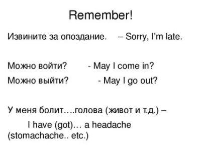 как извиниться за опоздание на английском