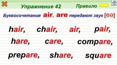 как читается слово air