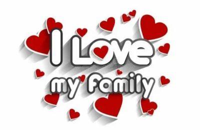 как по английски я люблю свою семью