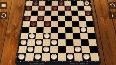 как по английски шашки