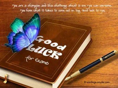 как пожелать удачи на английском
