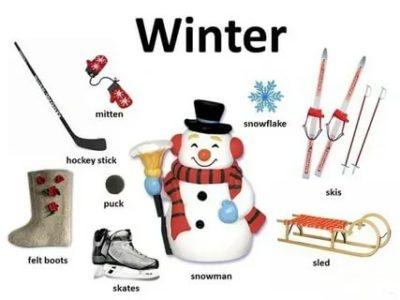 как переводится слово winter