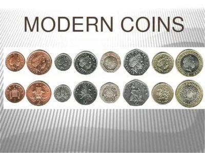 как по английски монета