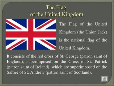как по английски флаг
