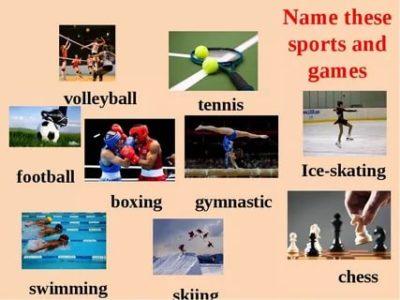 как по английски будет заниматься спортом