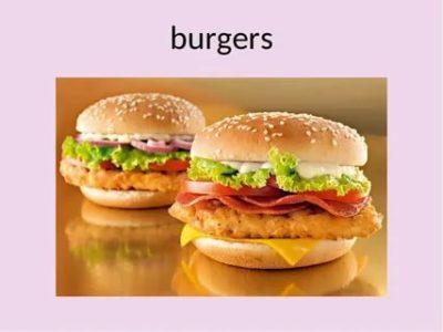 как по английски гамбургер