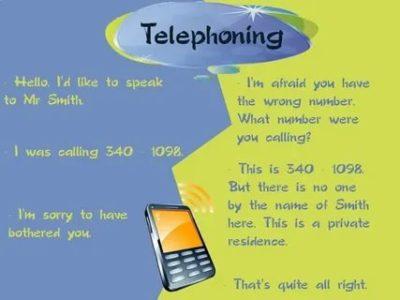 как по английски говорить по телефону
