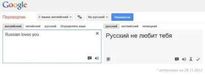 как перевести с английского на русский предложение