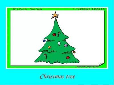 как по английски елка