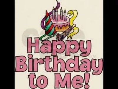 как на английском с днем рождения меня
