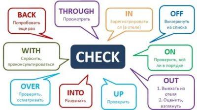 как переводится слово check