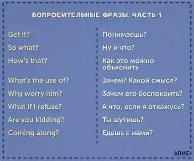 что такое фразы в английском языке