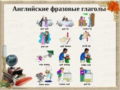 что такое фразовые глаголы в английском языке