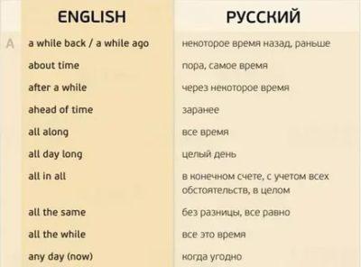 как будто на английском
