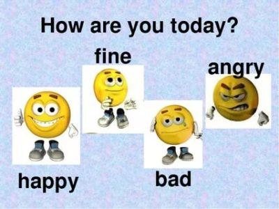 как настроение на английском
