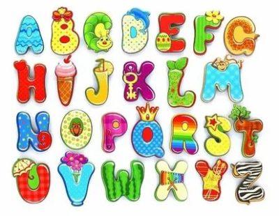 как нарисовать английский алфавит