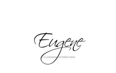 евгений на английском как пишется