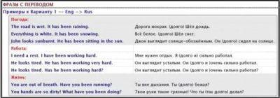 perfect как переводится на русский