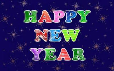 как по английски новый год