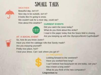small talk что это такое