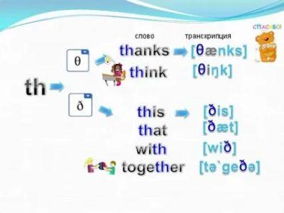 как произносится по английски thanks