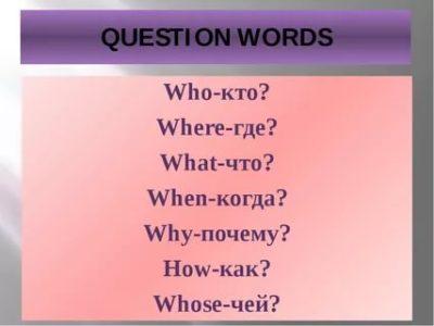 как переводится слово questions