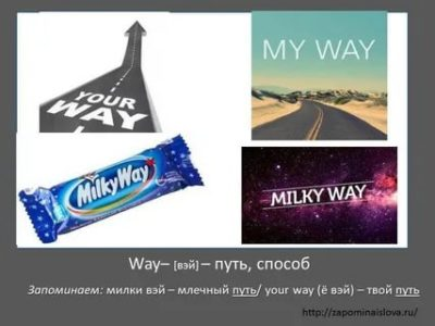 как переводится слово way