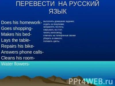 как переводится слово did на русский