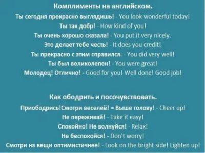 как ответить на комплимент на английском