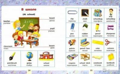 школа на английском языке как пишется