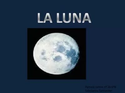 как по английски будет луна