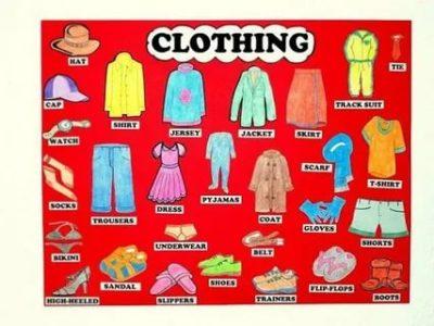 как по английски гардероб