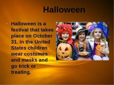 как по английски будет хэллоуин