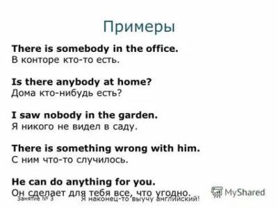 есть кто нибудь дома на английском