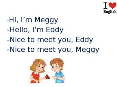 что ответить на nice to meet you