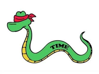 как по английски змея