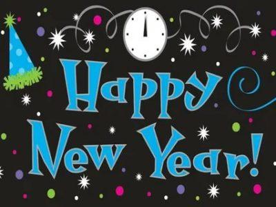 как написать по английски с новым годом