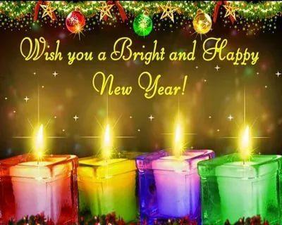 как поздравить с новым годом по английски