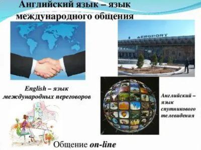 английский язык как язык международного общения