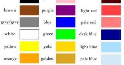 colour или color как правильно