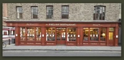 как по английски ресторан