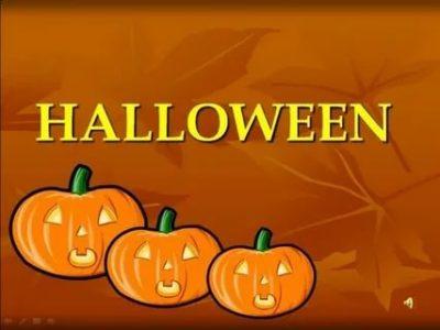 как пишется хэллоуин на английском